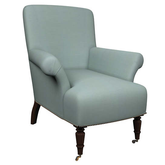 Estate Linen Sky Barrington Chair