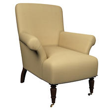 Estate Linen Wheat Barrington Chair