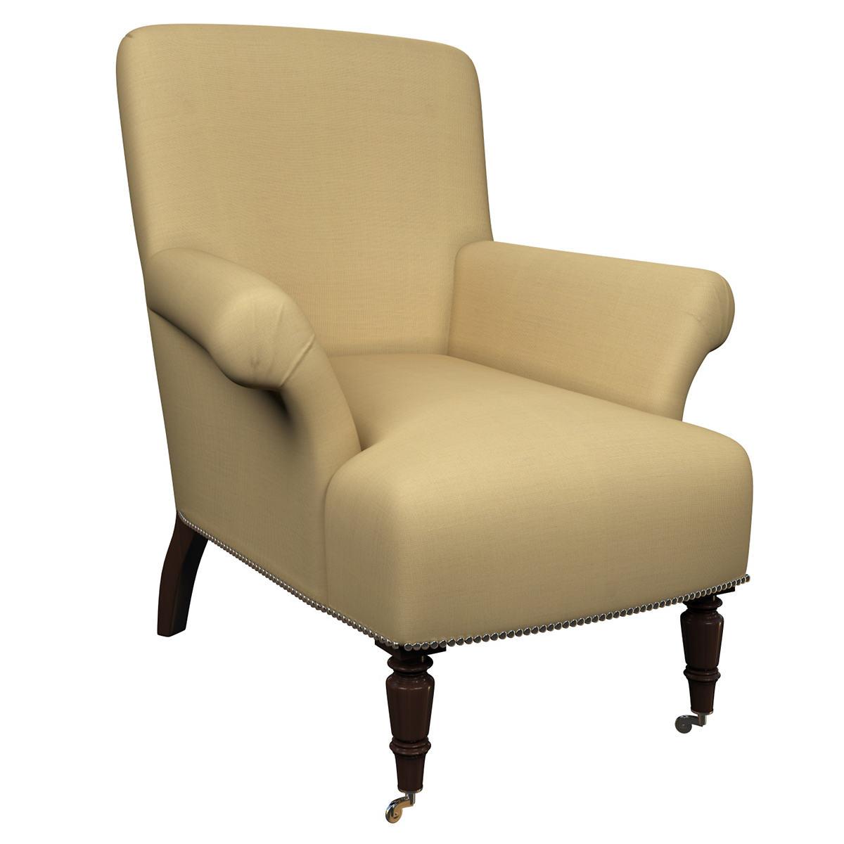 Estate Linen Wheat Barrington Chair