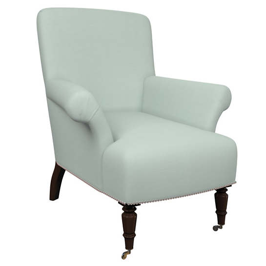 Estate Linen Powder Blue Barrington Chair