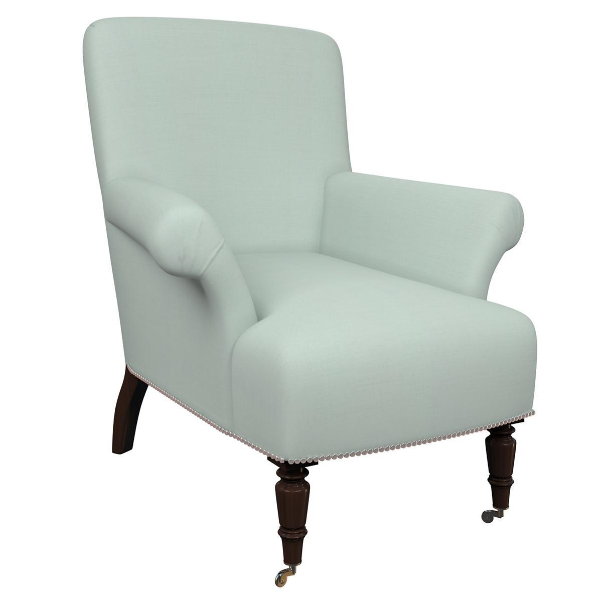 Estate Linen Powder Blue Barrington Chair