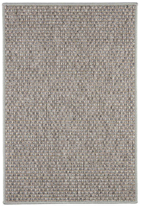 Basil Grey Indoor/Outdoor Custom Rug With Pad