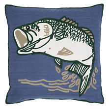 Bass Indoor/Outdoor Pillow