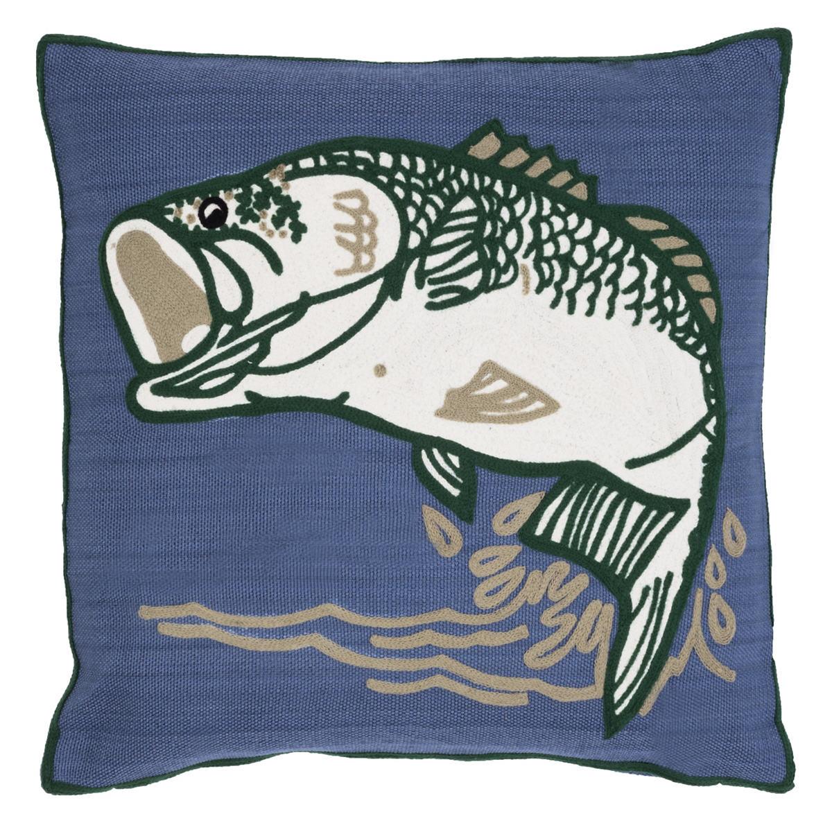 Bass Indoor/Outdoor Pillow