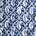 Batik Blue Coverlet