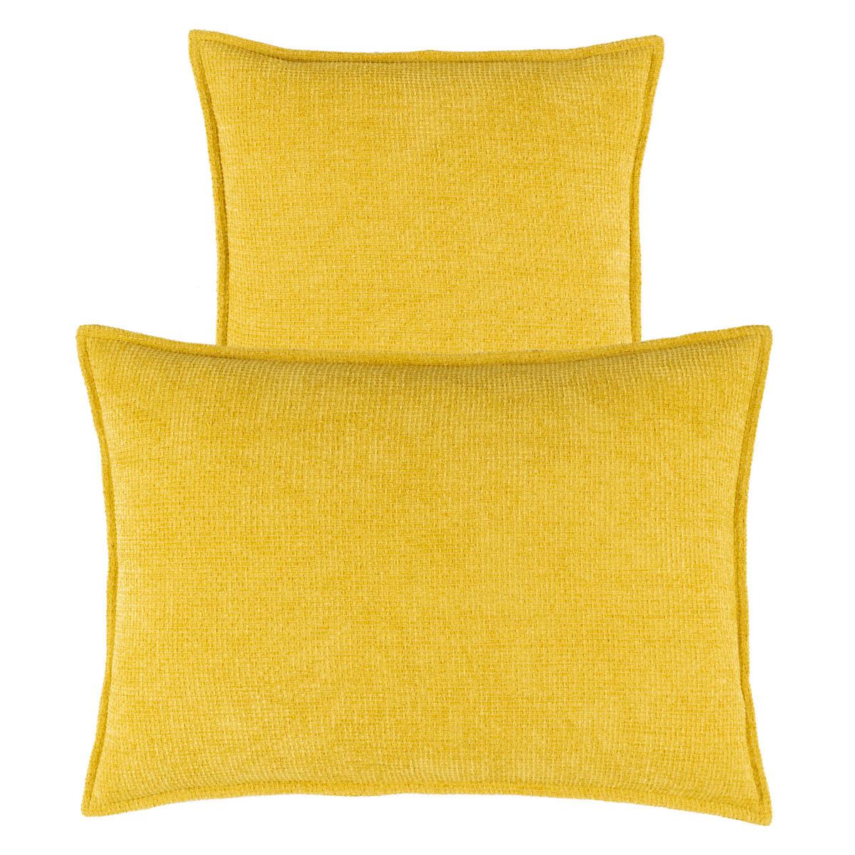 Bauble Chenille Gold Decorative Pillow