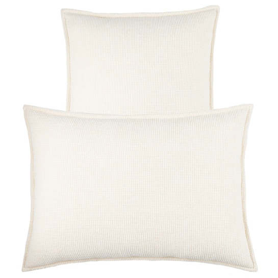 Bauble Chenille Ivory Decorative Pillow
