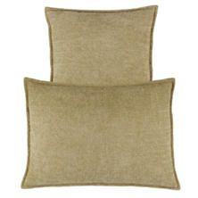 Bauble Chenille Vetiver Decorative Pillow