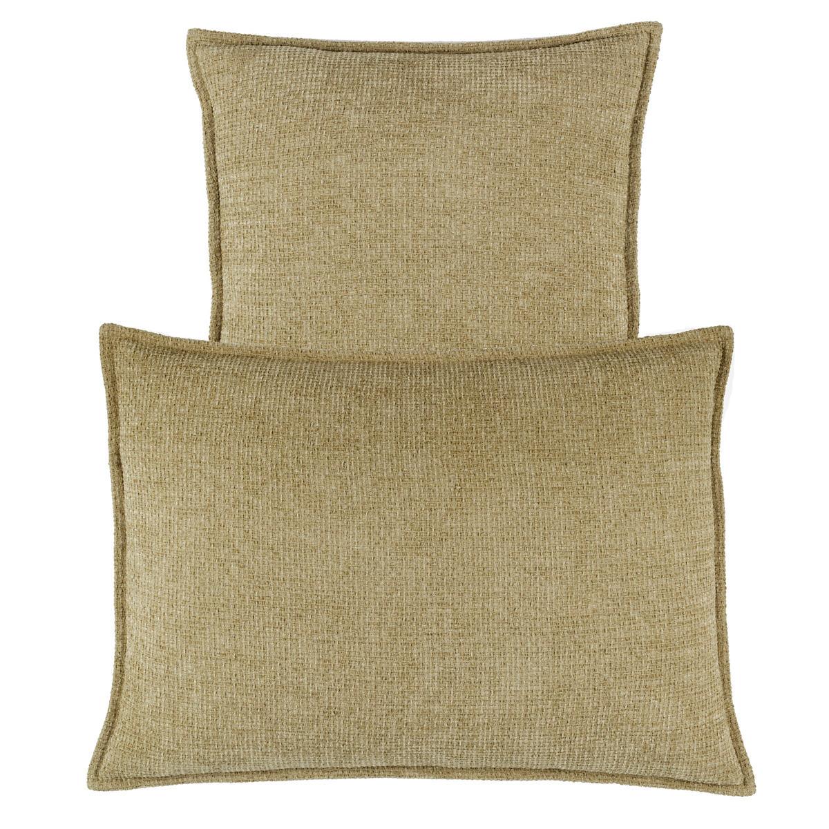 Bauble Chenille Vetiver Decorative Pillow