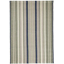Bay Stripe  Woven Cotton Rug