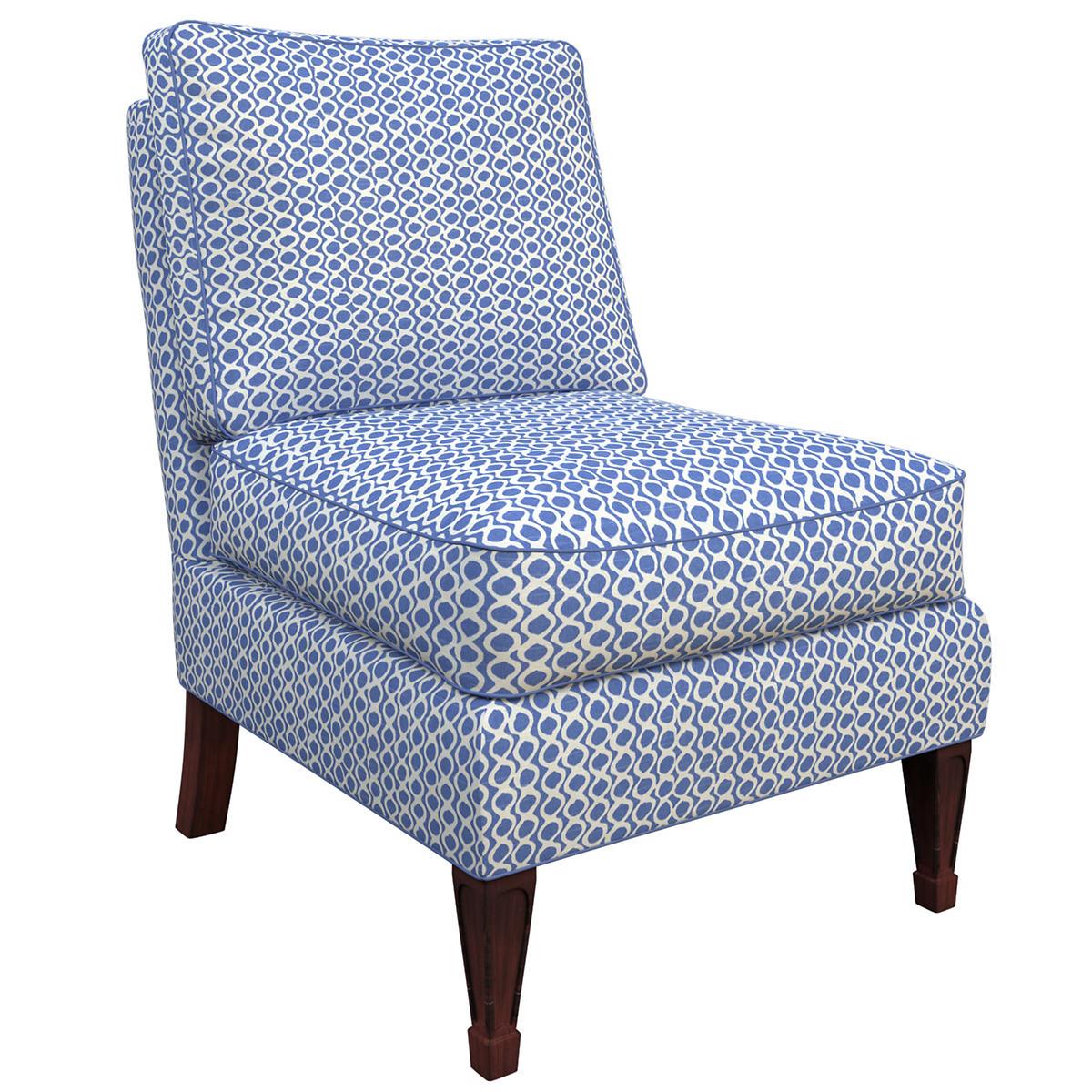 Beads Blue Eldorado Chair