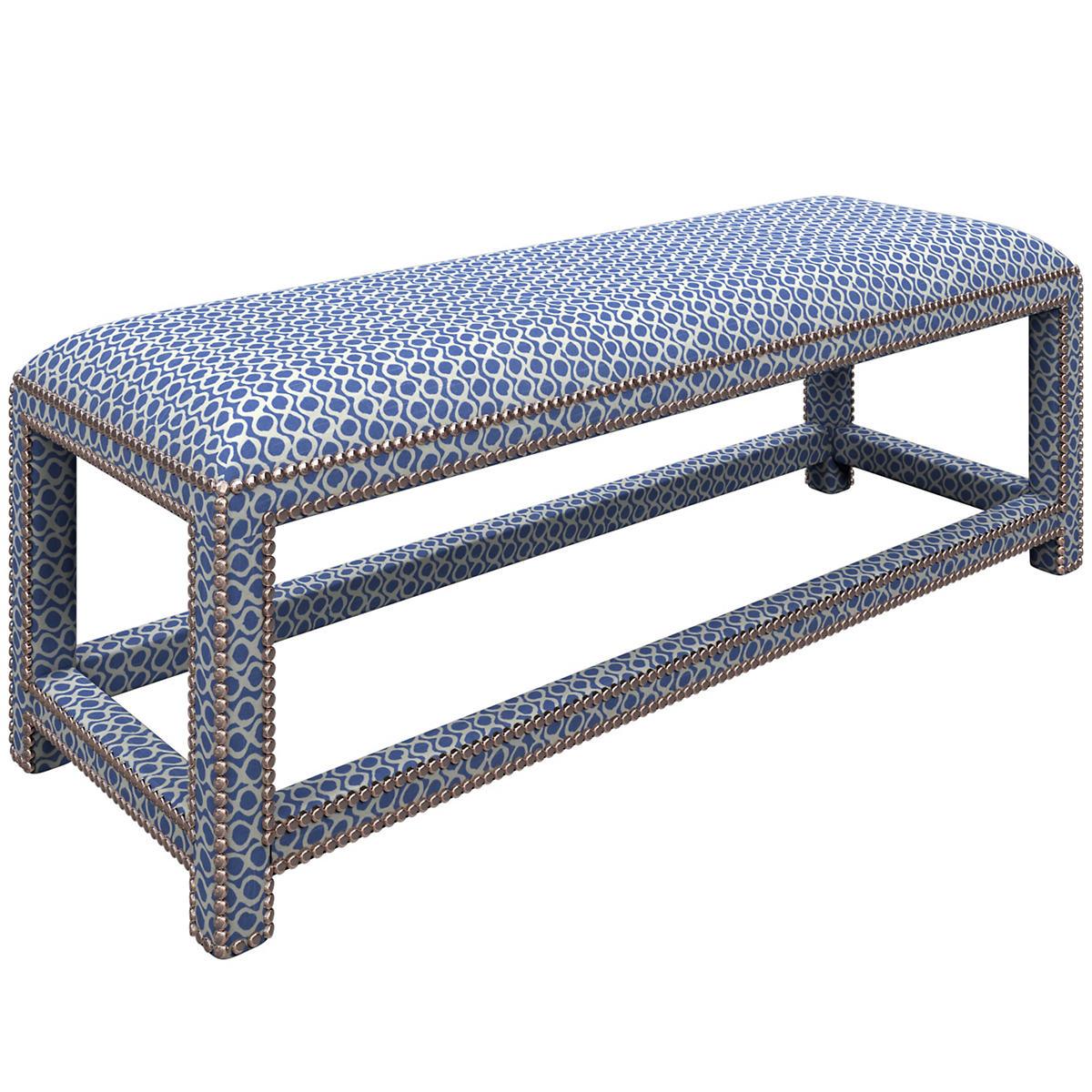 Beads Blue Lexington Bench
