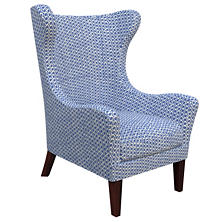 Beads Blue Mirage Tobacco Chair