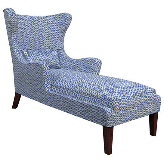 Beads Blue Mirage Tobacco Chaise