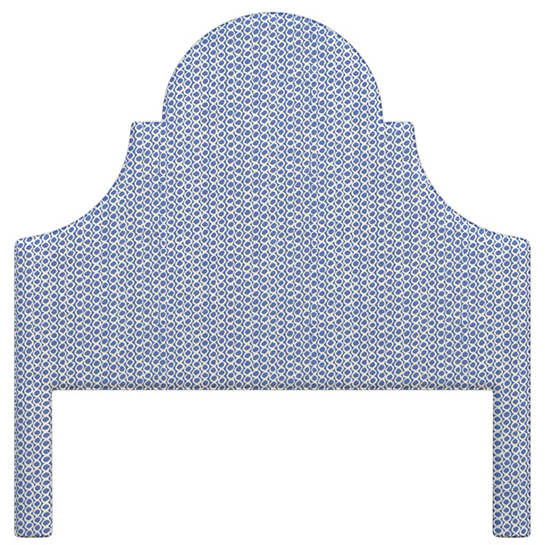Beads Blue Montaigne Headboard
