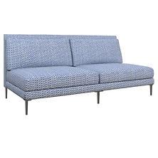 Beads Blue Portola Sofa