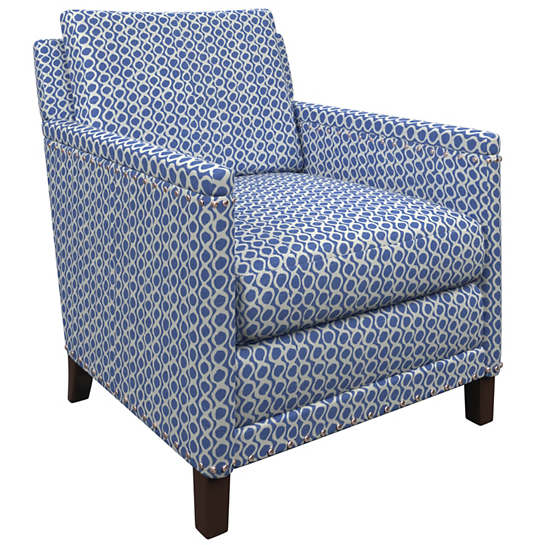 Beads Blue Ridgefield Chair