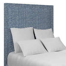 Beads Blue Stonington Headboard