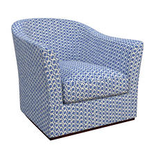 Beads Blue Thunderbird Chair