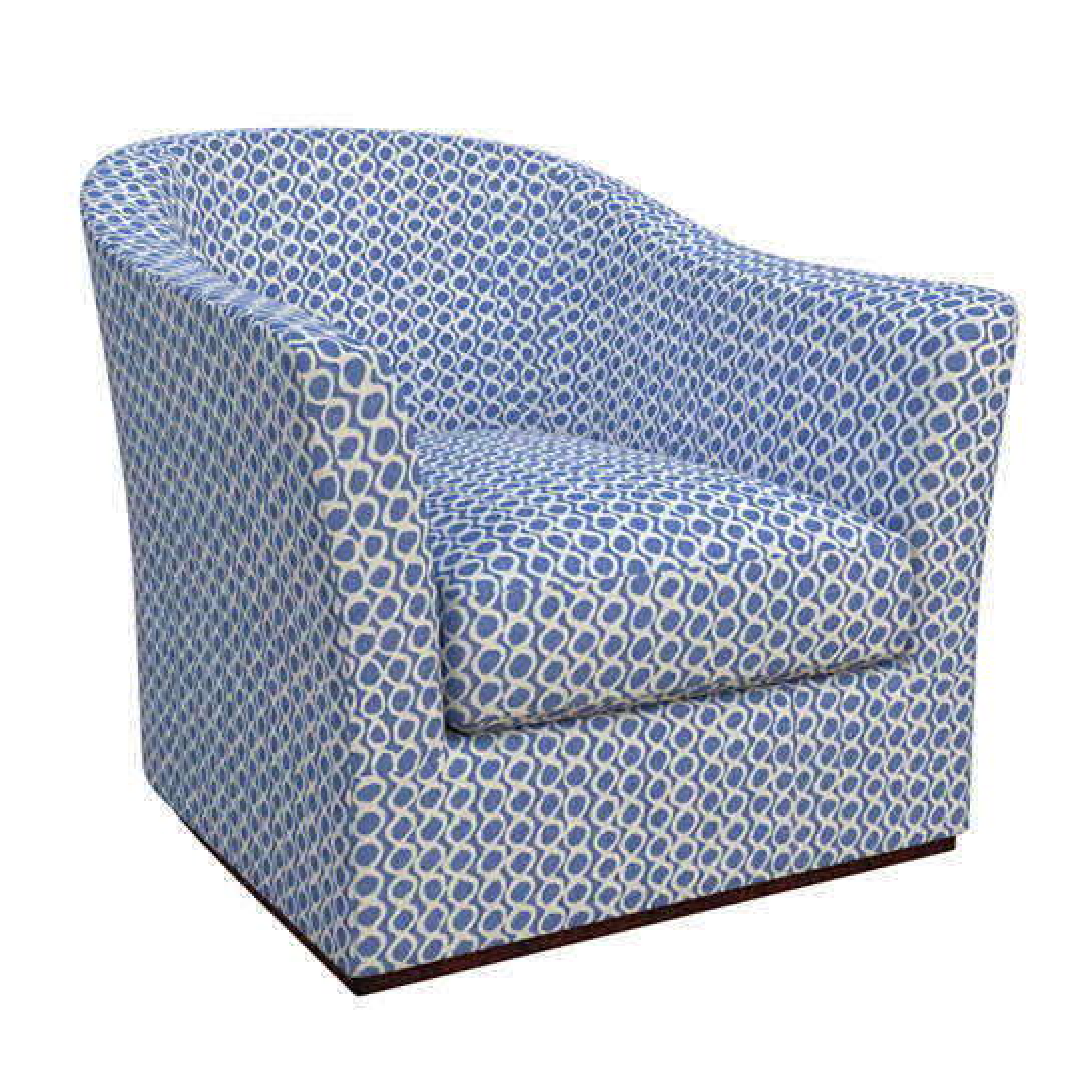 Beads Blue Thunderbird Chair