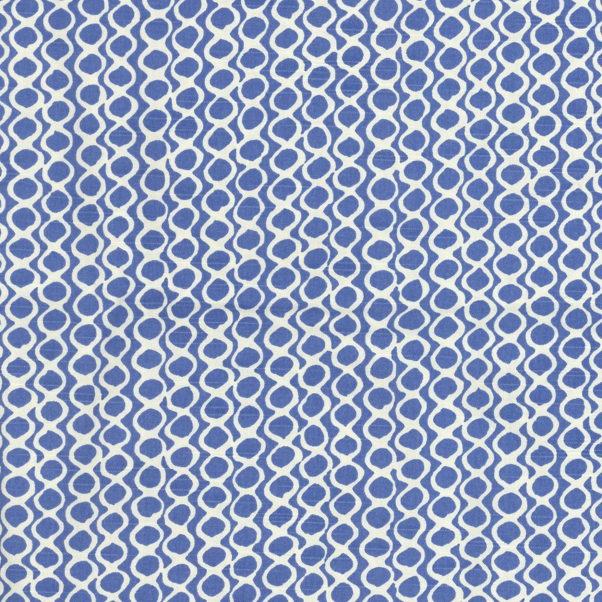 Beads Blue Fabric