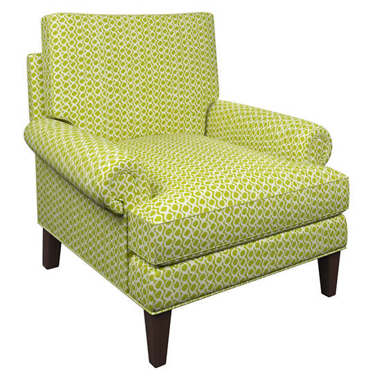 Beads Dark Green Easton Chair