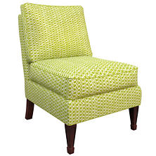 Beads Dark Green Eldorado Chair