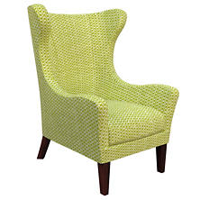 Beads Dark Green Mirage Tobacco Chair
