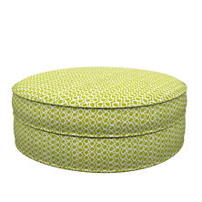 Beads Dark Green Palm Court Ottoman