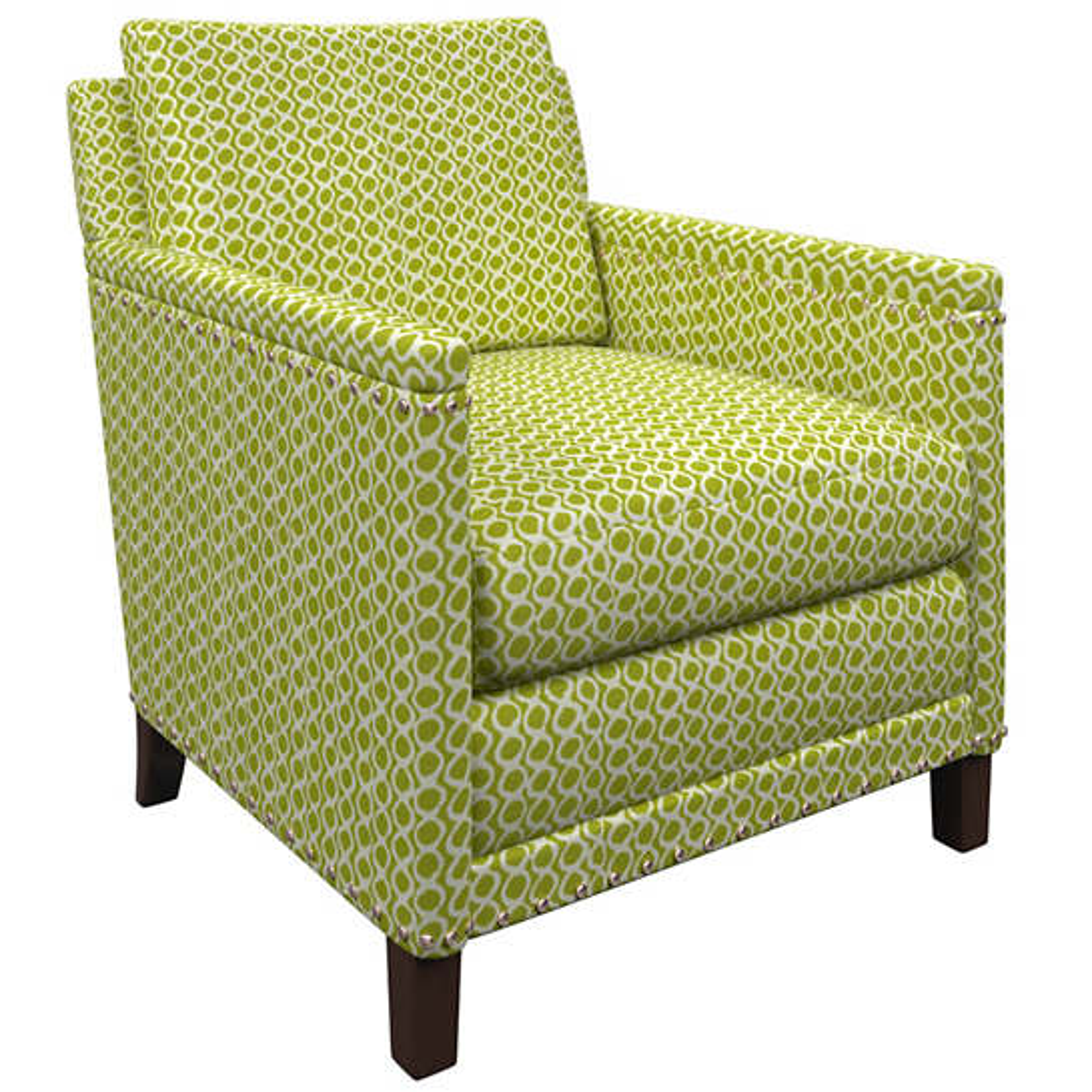 Beads Dark Green Ridgefield Chair