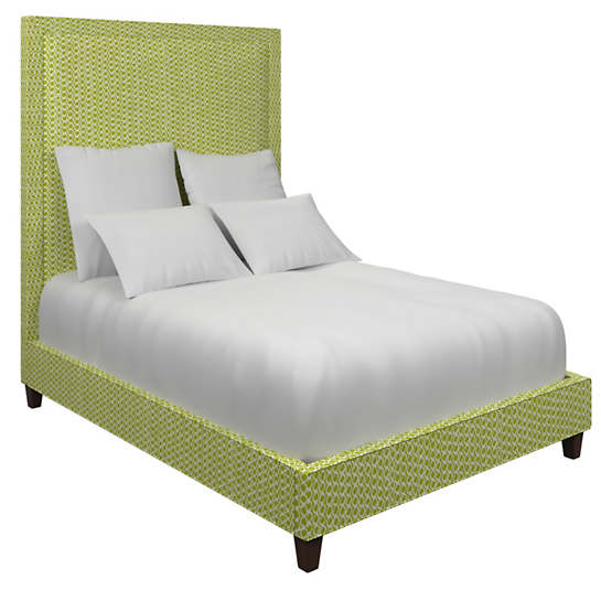 Beads Dark Green Stonington Bed