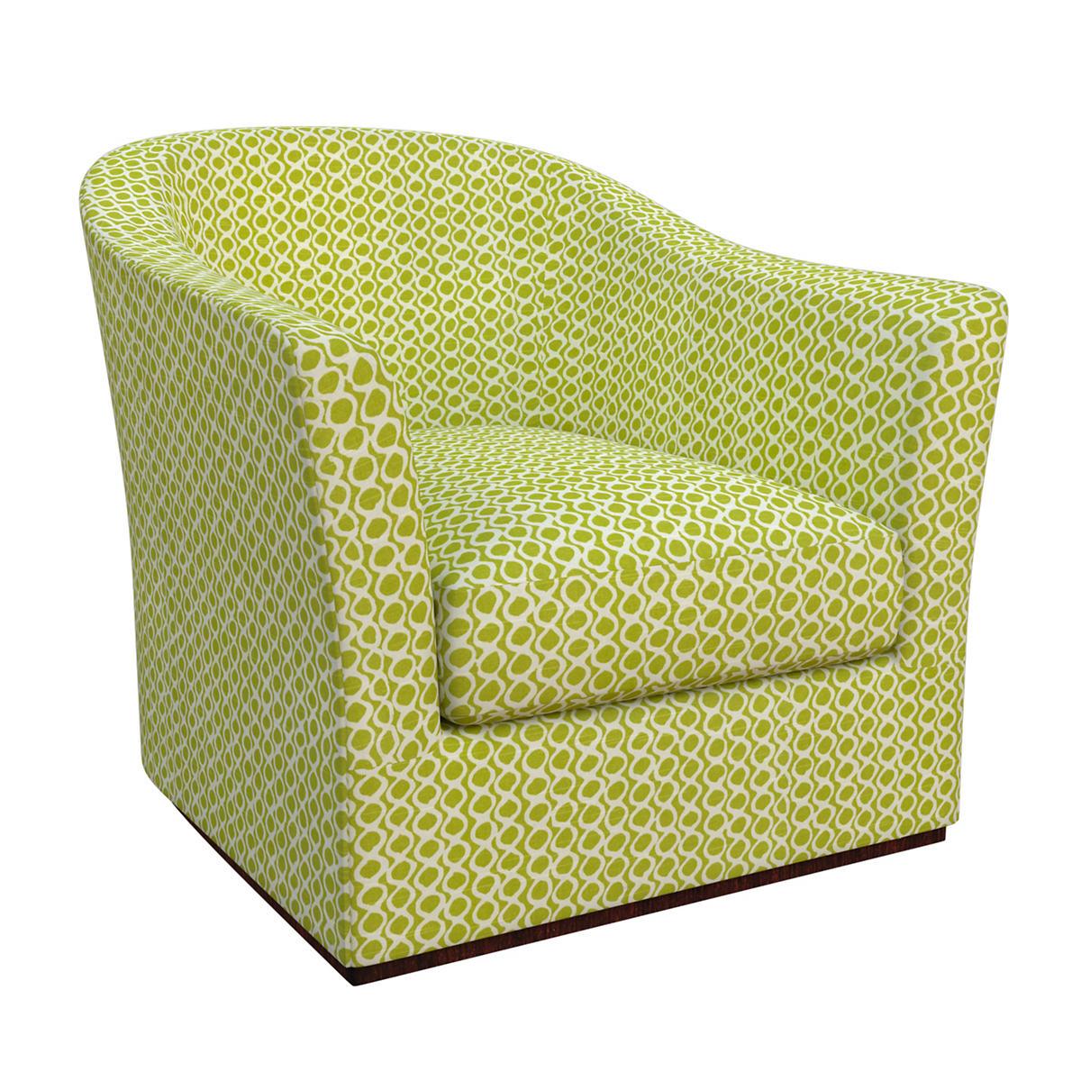 Beads Dark Green Thunderbird Chair