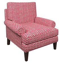 Beads Fuchsia Easton Chair