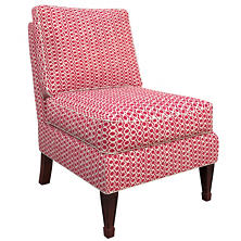Beads Fuchsia Eldorado Chair