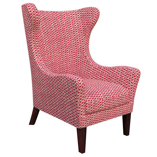 Beads Fuchsia Mirage Tobacco Chair