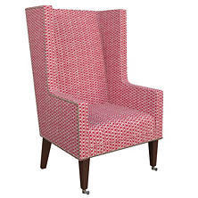 Beads Fuchsia Neo-Wing Chair