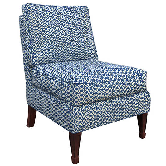 Beads Navy Eldorado Chair
