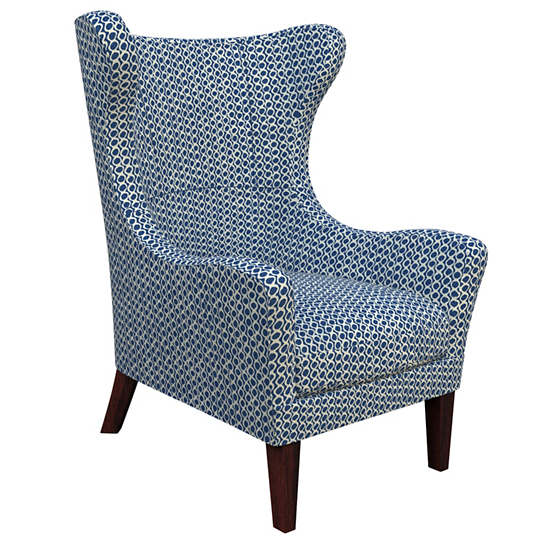 Beads Navy Mirage Tobacco Chair