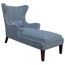 Beads Navy Mirage Tobacco Chaise
