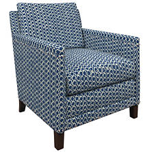 Beads Navy Ridgefield Chair