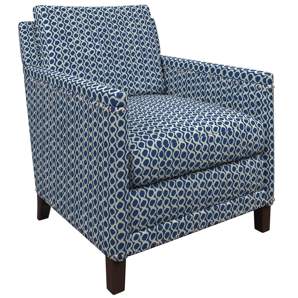 Beads Navy Ridgefield Chair