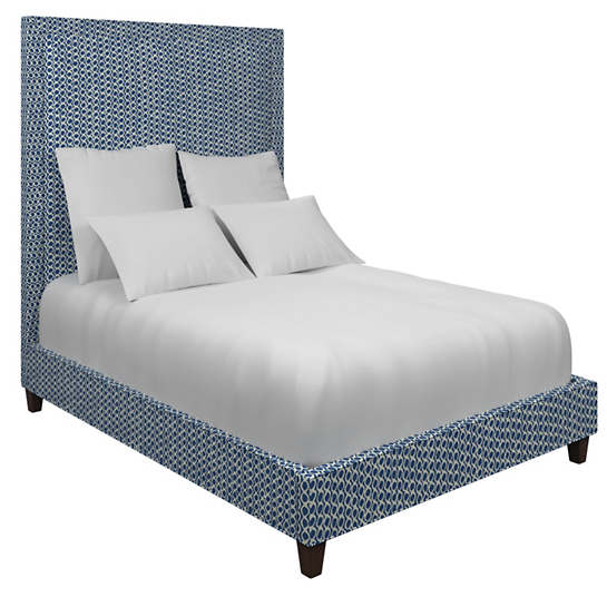 Beads Navy Stonington Bed