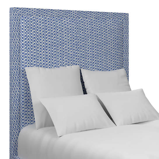 Beads Navy Stonington Headboard