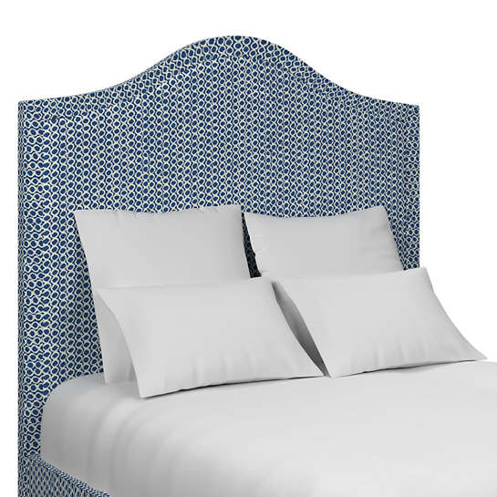 Beads Navy Westport Headboard