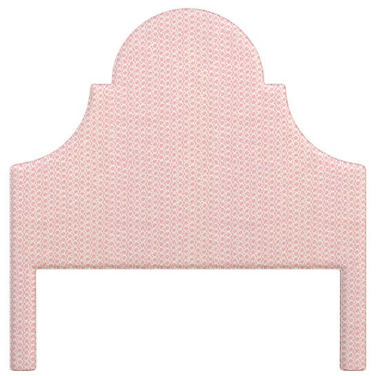 Beads Pink Montaigne Headboard
