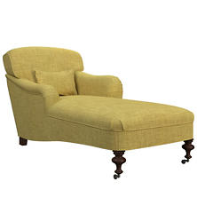 Canvasuede Citrus Beaufort Chaise