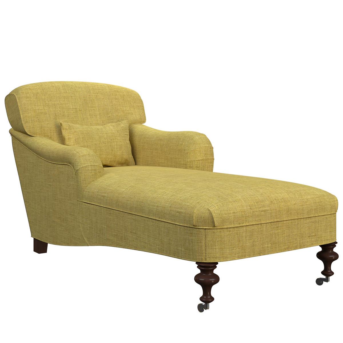 Canvasuede Citrus Beaufort Chaise