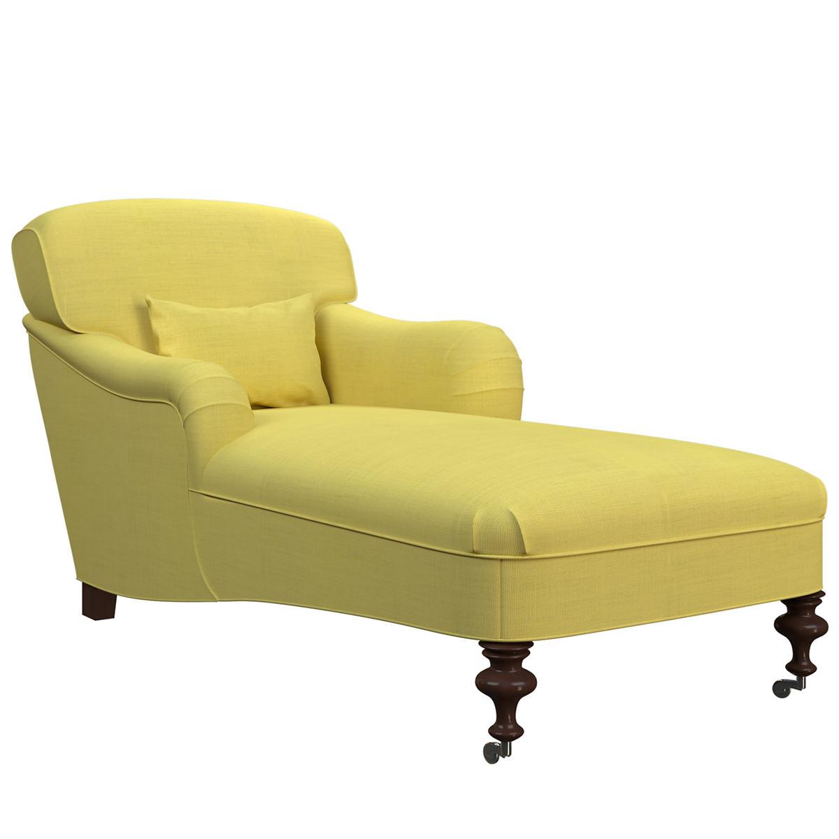 Estate Linen Citrus Beaufort Chaise