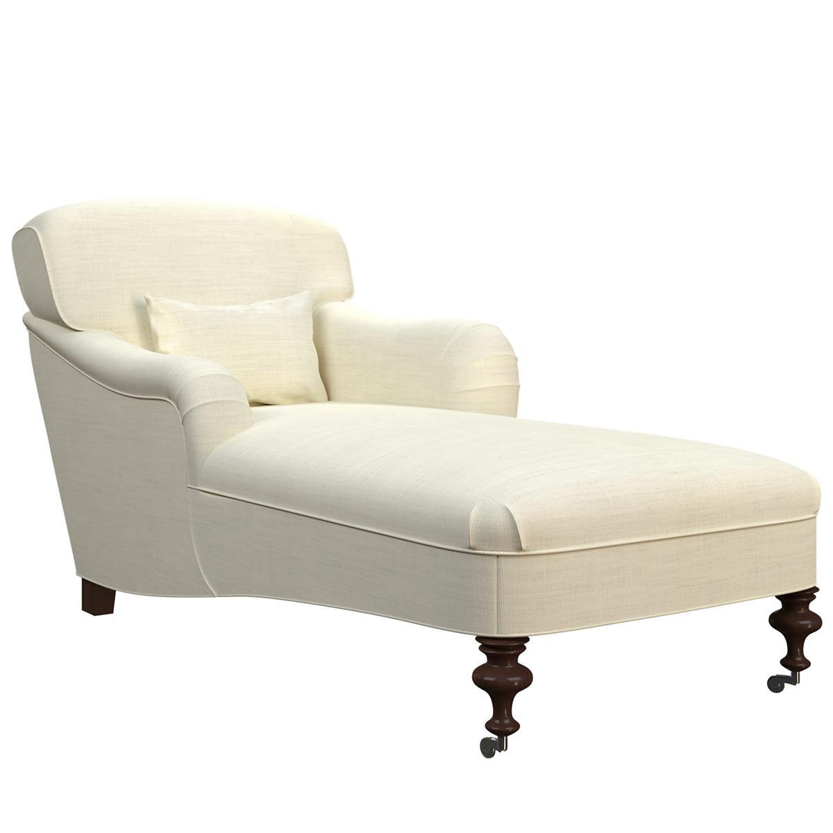 Estate Linen Ivory Beaufort Chaise