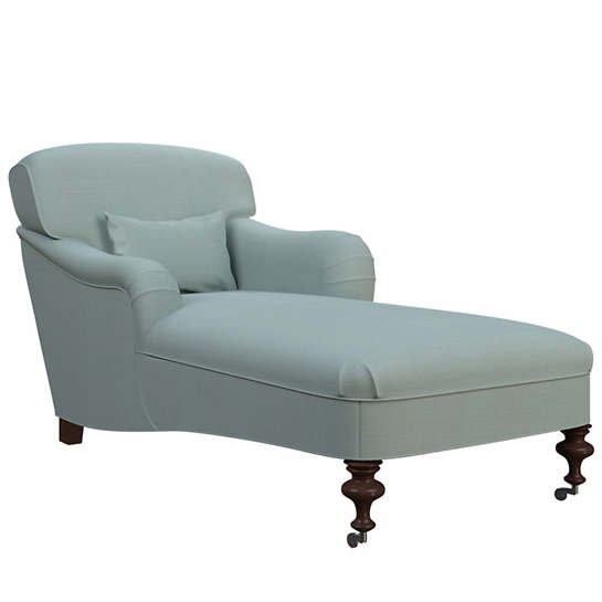 Estate Linen Sky Beaufort Chaise